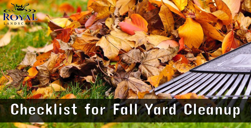 Checklist For Fall Yard Cleanup